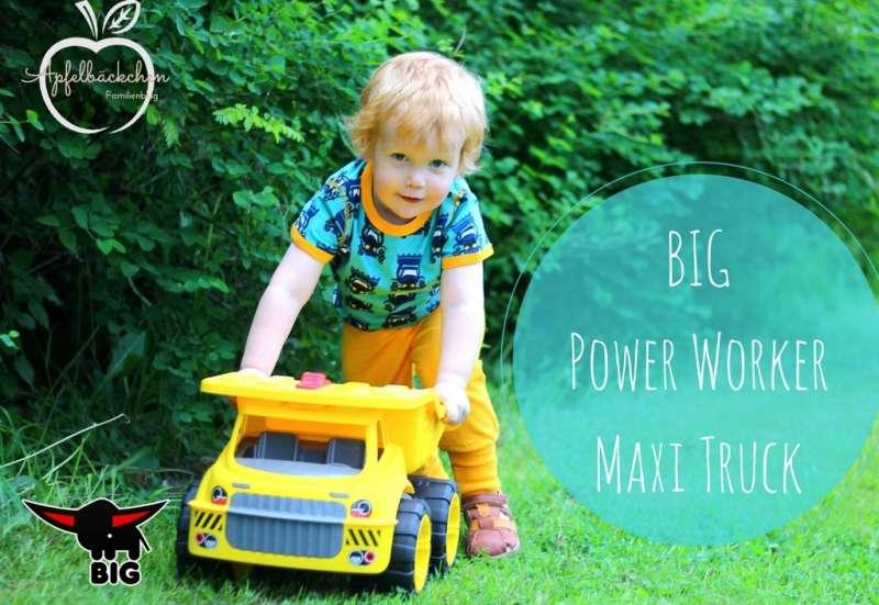 BIG/Outdoor & Sport:BIG Power Worker Maxi Truck