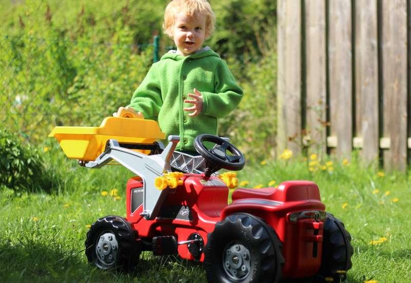 Sonstige/Autos, Fahrzeuge, Boote & Flieger:rolly toys FUTURA Kids Traktor