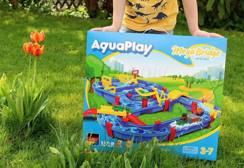 AuqaPlay/Outdoor & Sport:AquaPlay Megabridge