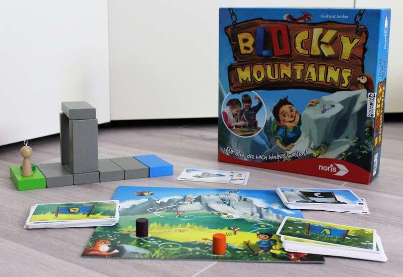 Noris/Spiele & Puzzles:Spieletest Blocky Mountains