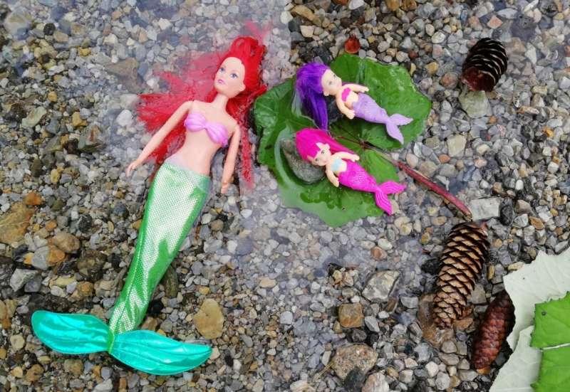 Simba/Puppen & Puppenzubehör:Meerjungfrauen auf Abwegen