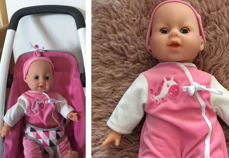 Simba/Puppen & Puppenzubehör:Babypuppe Laura