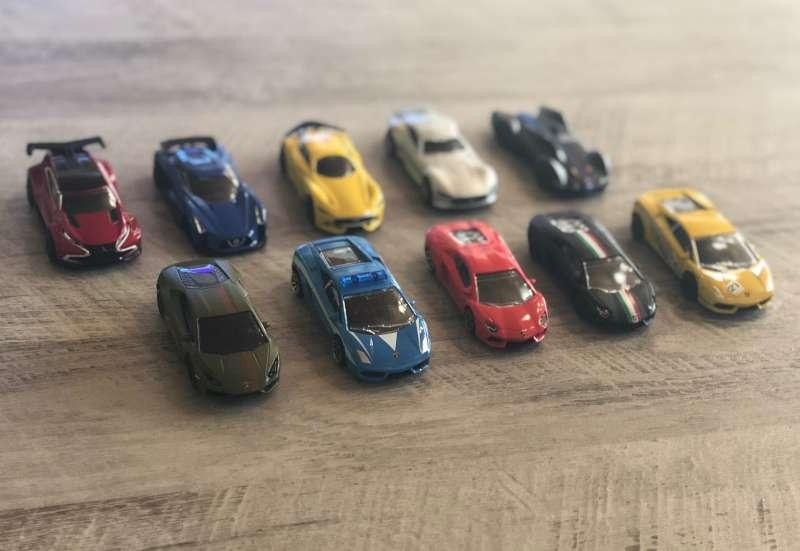 Die Autosammlung der Kids