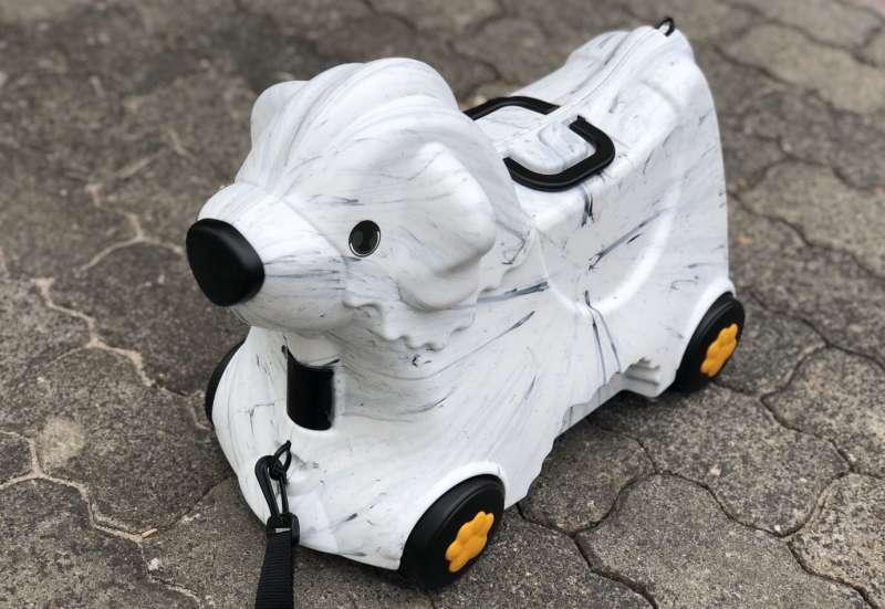 Der süße Hunde Trolley