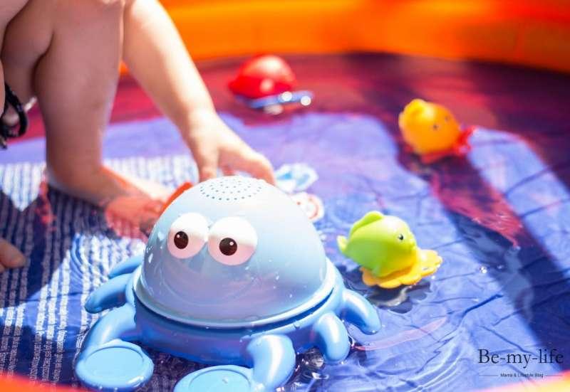 Simba/Baby- & Kleinkindspielzeug:Plantschen mit Krabbe und Co