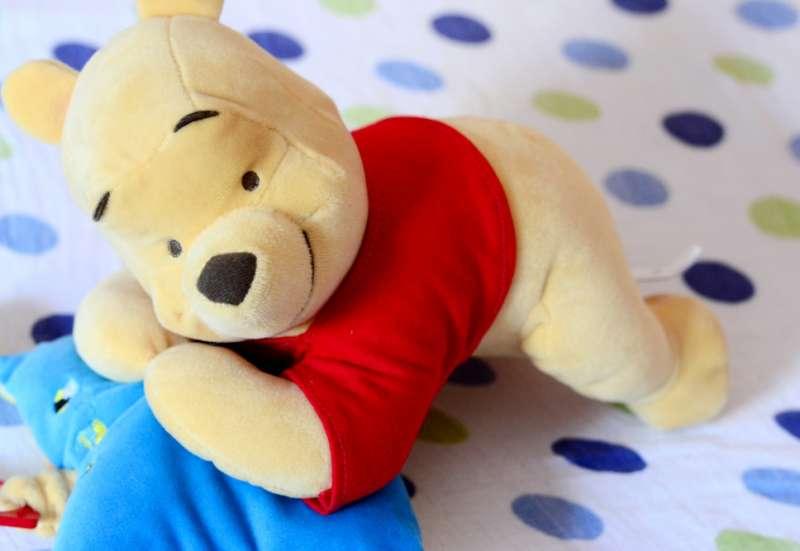 Simba/Baby- & Kleinkindspielzeug:Gewinne 1 Winnie Puuh Spieluhr