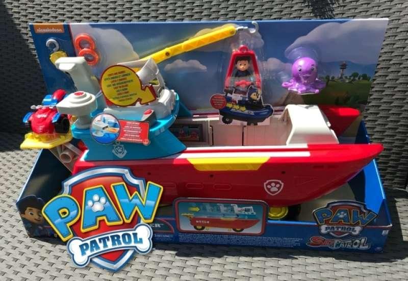 SPIN MASTER/Spielewelten & Sammelfiguren:Mit PAW Patrol auf hoher See