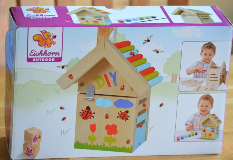 Eichhorn/Basteln, Malen & Kreativ:Käferhaus von Eichhorn