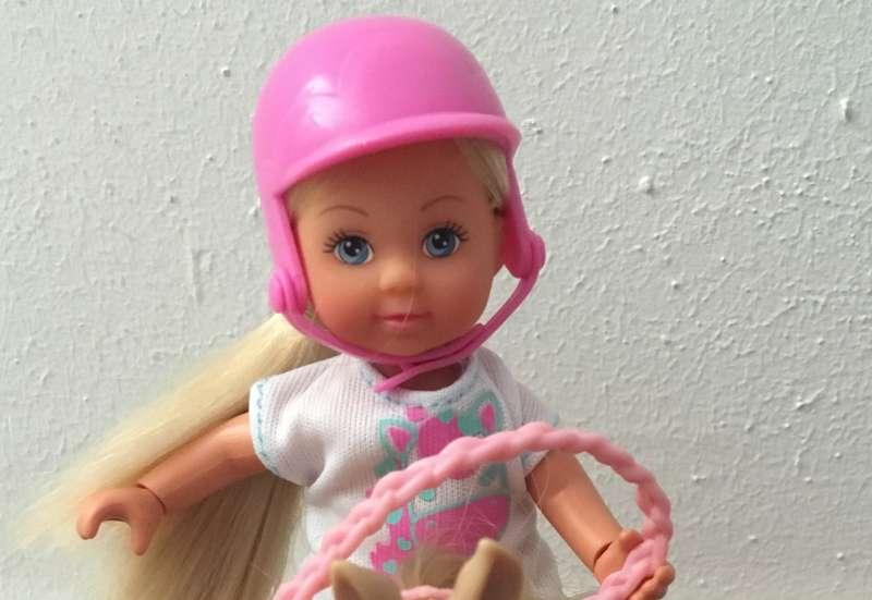 Simba/Puppen & Puppenzubehör:Evi Love Pferdehof+ Fahrrad