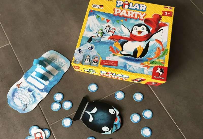Sonstige/Spiele & Puzzles:Wenn Pinguine feiern...