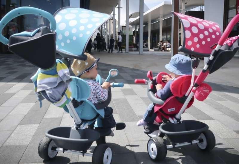 Smoby/Kinderfahrzeuge (z. B. Bobby Car):Dreirad von Smoby