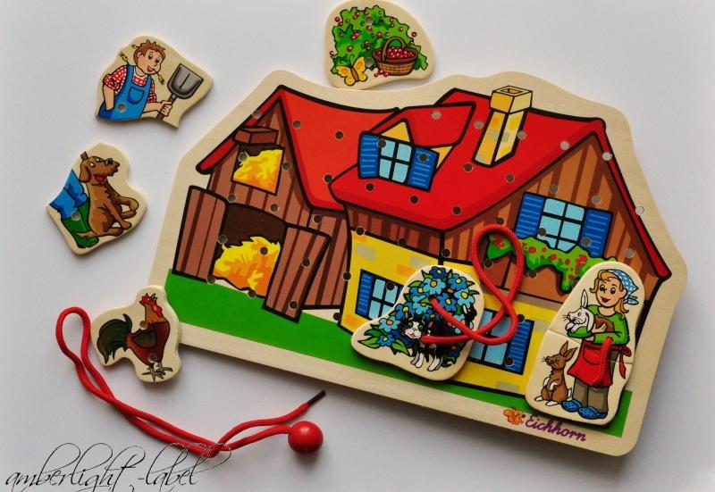 Eichhorn/Baby- & Kleinkindspielzeug:Fädelspiel von Eichhorn