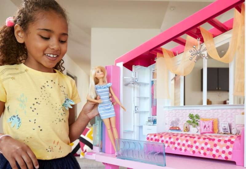 MATTEL/Puppen & Puppenzubehör:Barbies Traumvilla
