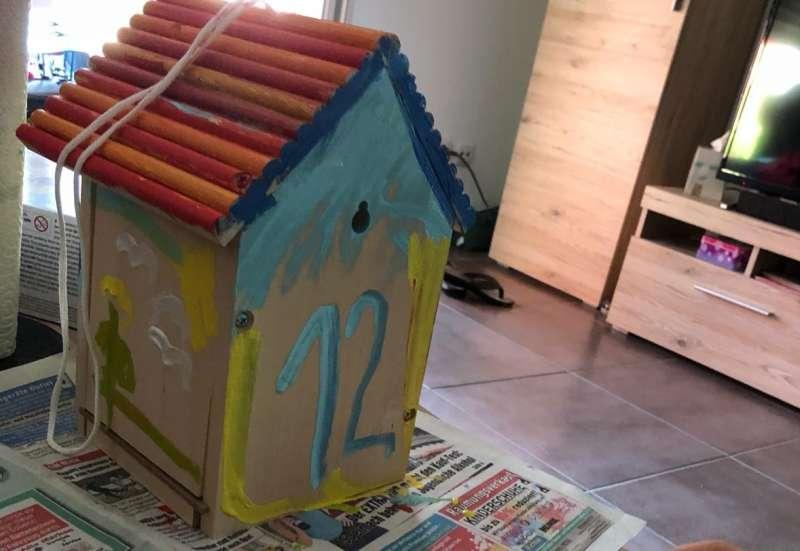 Eichhorn/Basteln, Malen & Kreativ:Ein Vogelhaus zum verlieben