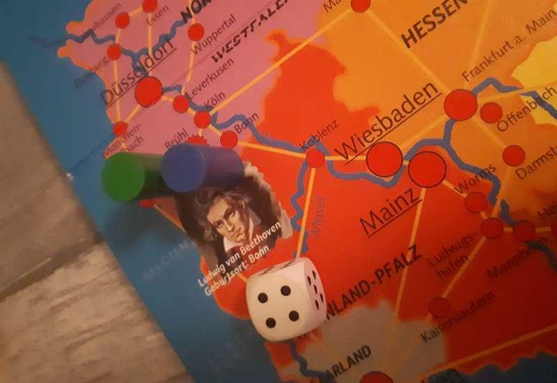 Noris/Spiele & Puzzles:Quer durch Deutschland