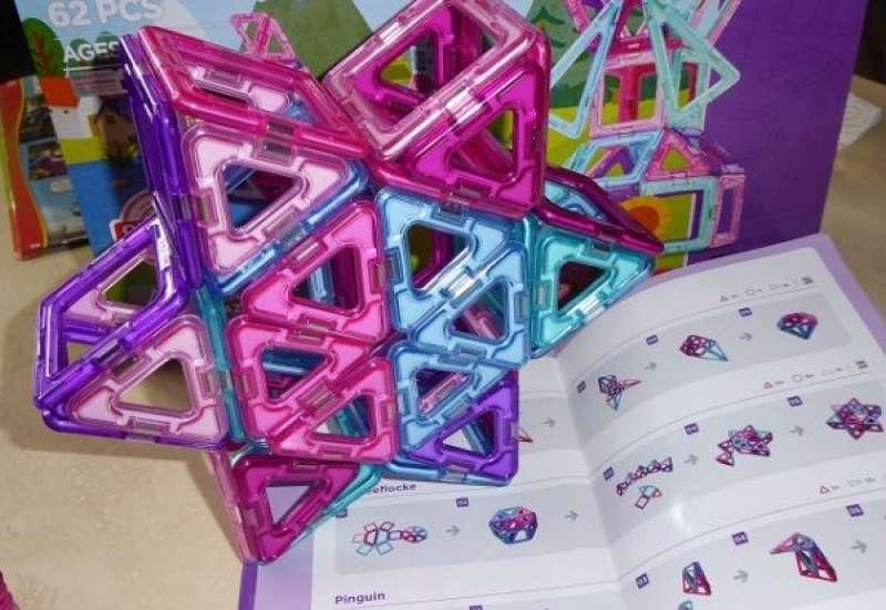 Sonstige/Bauen & Konstruieren:Magformers Inspire 62 Set