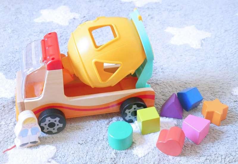 Eichhorn/Baby- & Kleinkindspielzeug:Eichhorn 2in1 Misch LKW und So