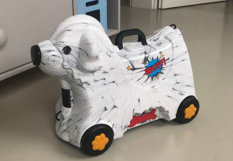 BIG/Kinderfahrzeuge (z. B. Bobby Car):BIG-Bobby-Trolley Marble
