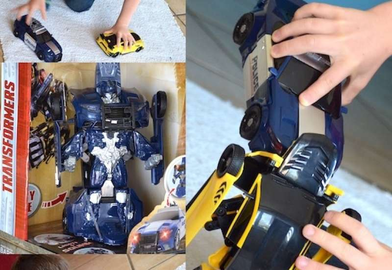 Dickie Toys/Autos, Fahrzeuge, Boote & Flieger:Transformer für coole Jungs