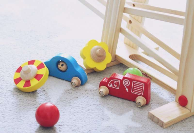 Eichhorn/Baby- & Kleinkindspielzeug:Eichhorn Rollbahn