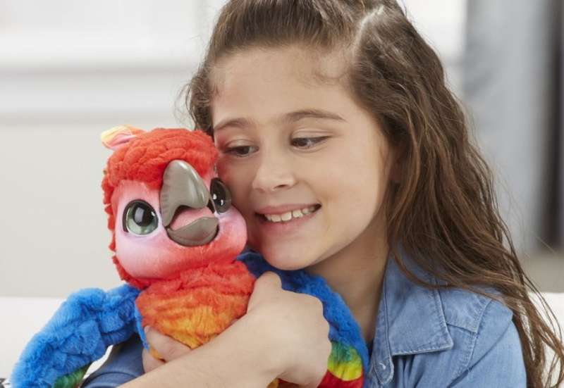 Hasbro/Plüsch- und Kuscheltiere:Fur Real Friends Plappagei