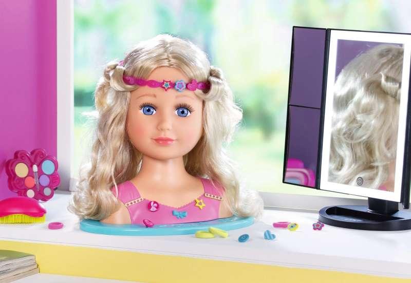 ZAPF CREATION/Puppen & Puppenzubehör:Stylingkopf für Kinder