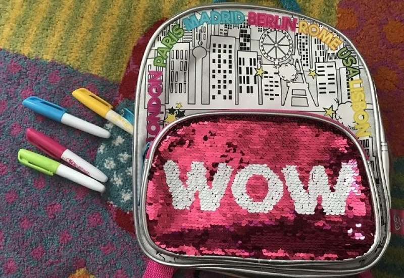 Simba/Basteln, Malen & Kreativ:Color Me Mine Swap Back Pack