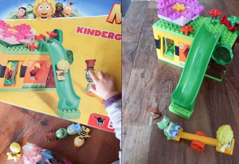 BIG/Basteln, Malen & Kreativ:BIG Bloxx Maja Kindergarten
