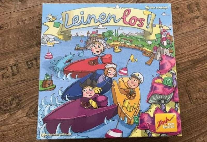 Zoch/Spiele & Puzzles:Spiel Leinen los!