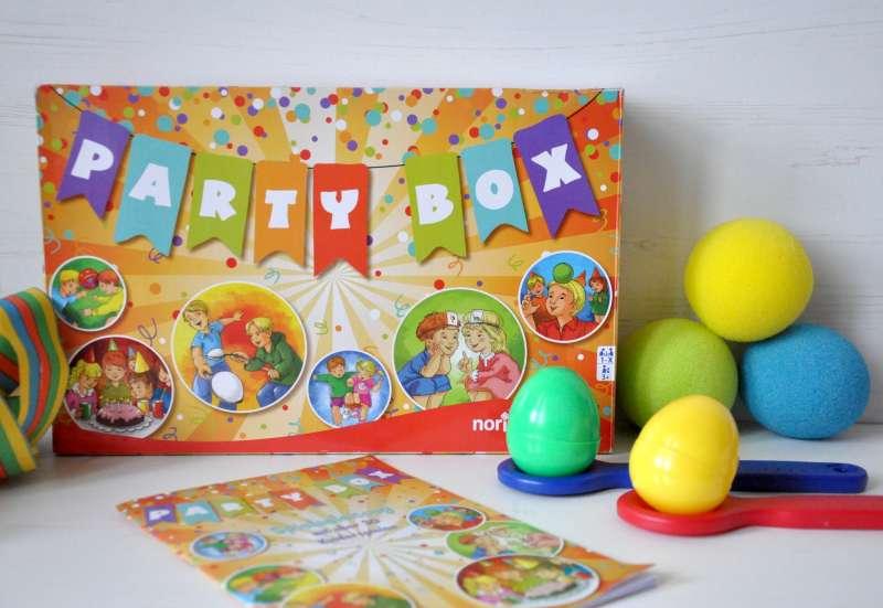 Noris/Spiele & Puzzles:Die Party-Box von Noris
