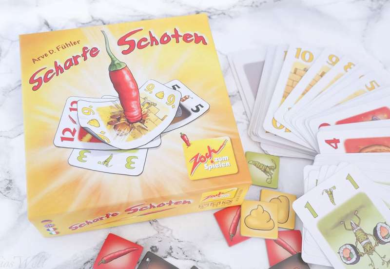 Zoch/Spiele & Puzzles:Scharfe Schoten von Zoch