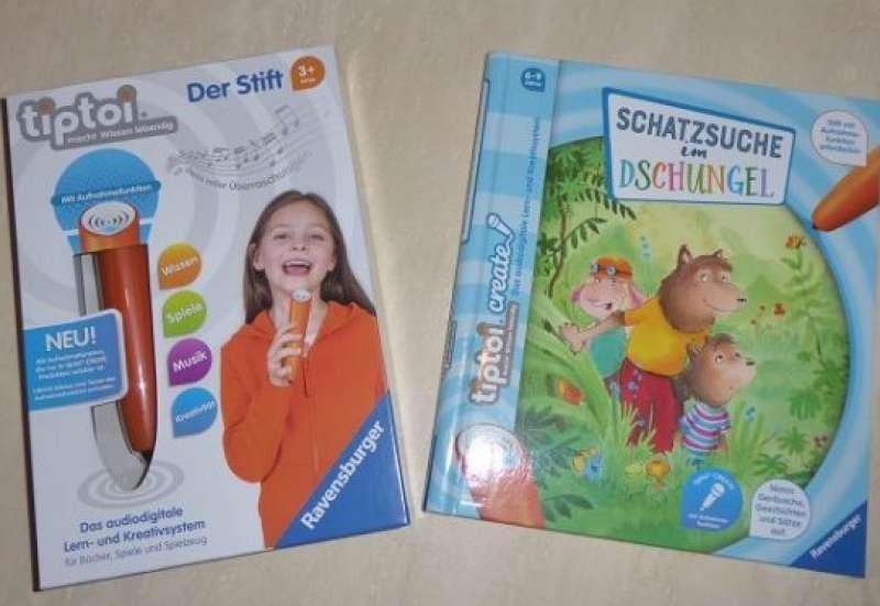 RAVENSBURGER/Spiele & Puzzles:tiptoi create im Test