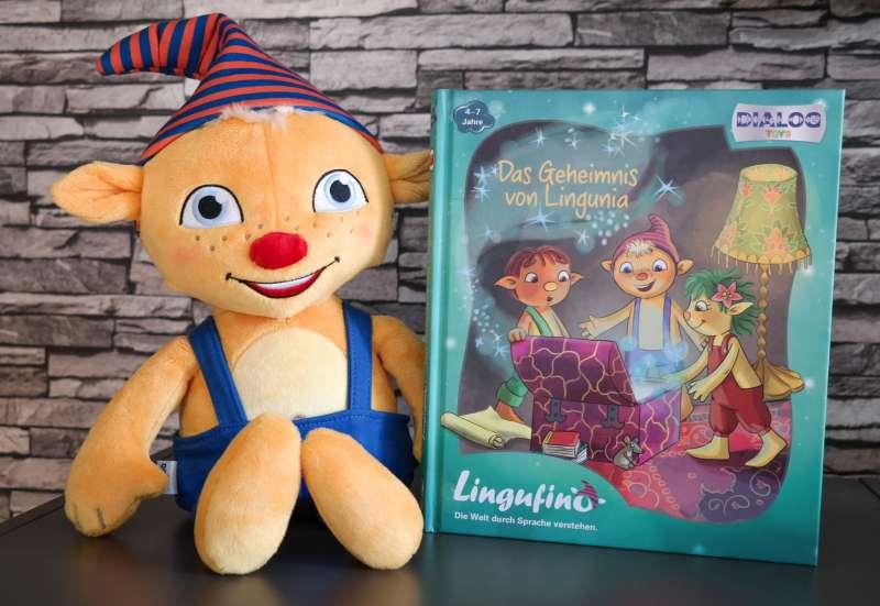 Sonstige/Plüsch- und Kuscheltiere:Sprechen lernen mit Lingufino!