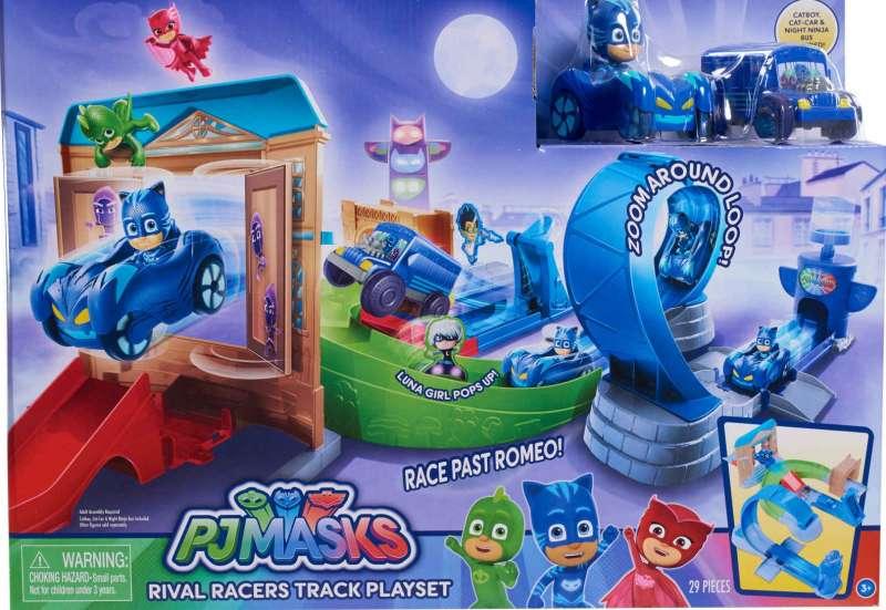 Simba/Autos, Fahrzeuge, Boote & Flieger:PJ Masks Rennbahn