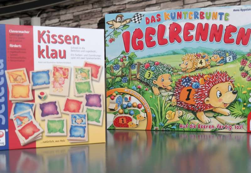 SCHMIDT SPIELE/Spiele & Puzzles:2 wunderbare Kinderspiele!