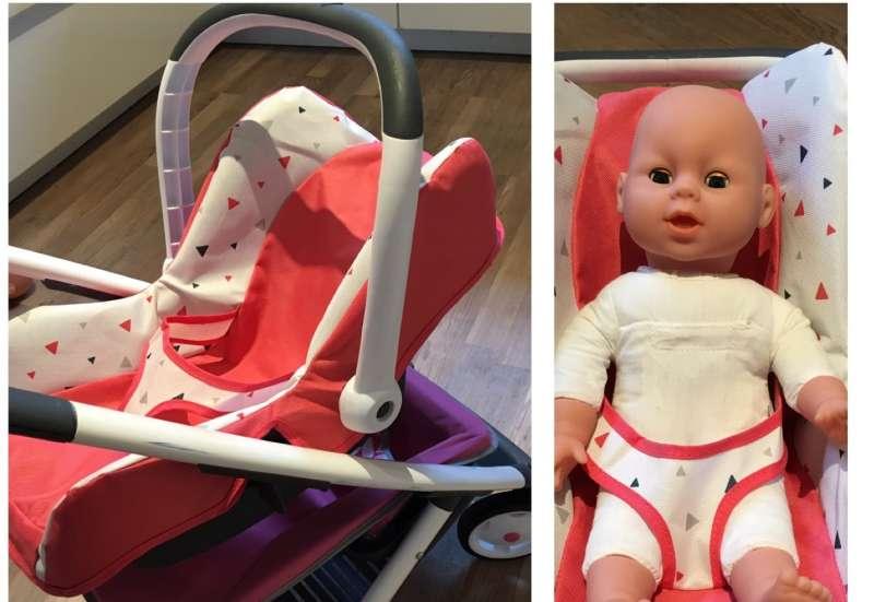 Smoby/Puppen & Puppenzubehör:Babyschale von Smoby