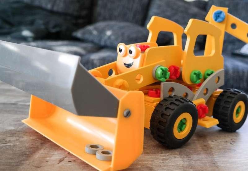 Eichhorn/Bauen & Konstruieren:BaggerBaggi Constructor!