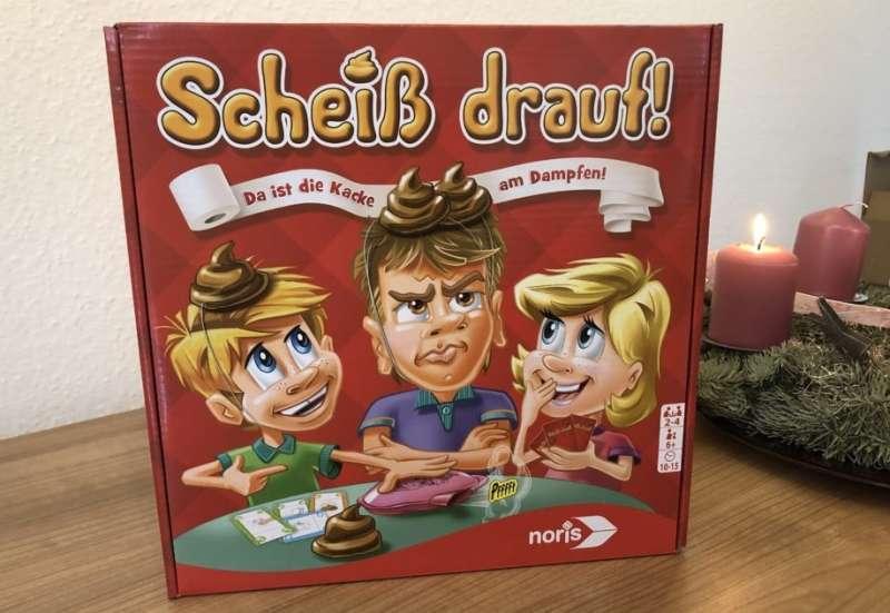 Noris/Spiele & Puzzles:Scheiß drauf