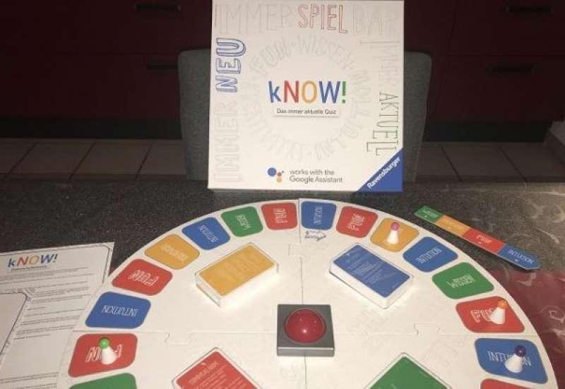 RAVENSBURGER/Spiele & Puzzles:Quizspiel kNOW!