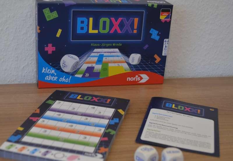 Noris/Spiele & Puzzles:Bloxx -  ein Klassiker