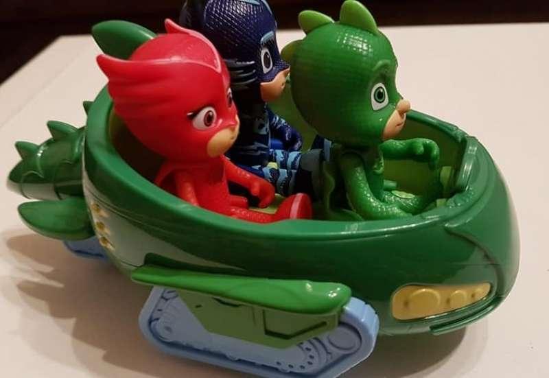 Simba/Autos, Fahrzeuge, Boote & Flieger:PJ Masks, Gecko mit Geckomobil