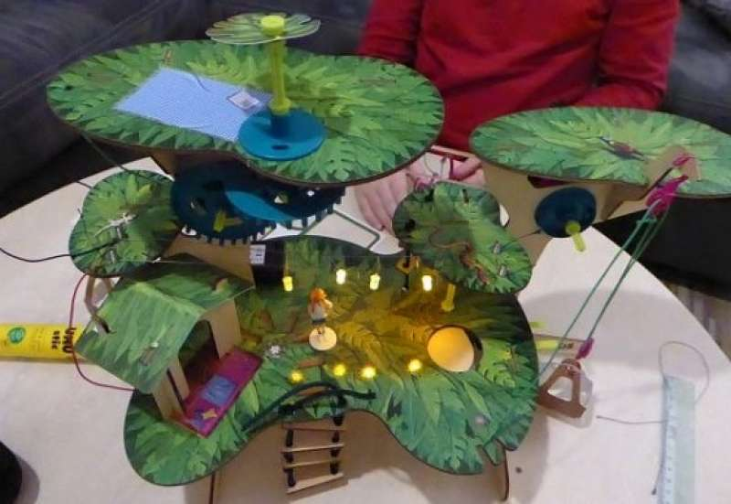 KOSMOS/Bauen & Konstruieren:Pepper Mint Baumhaus Abenteuer