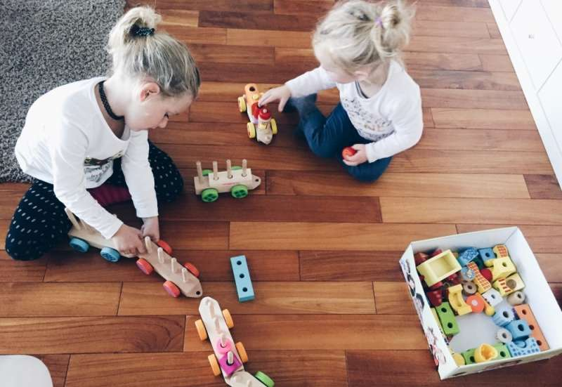 Eichhorn/Baby- & Kleinkindspielzeug:Holzzug