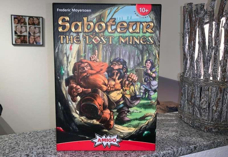 AMIGO/Spiele & Puzzles:Saboteur  - The Lost Mines