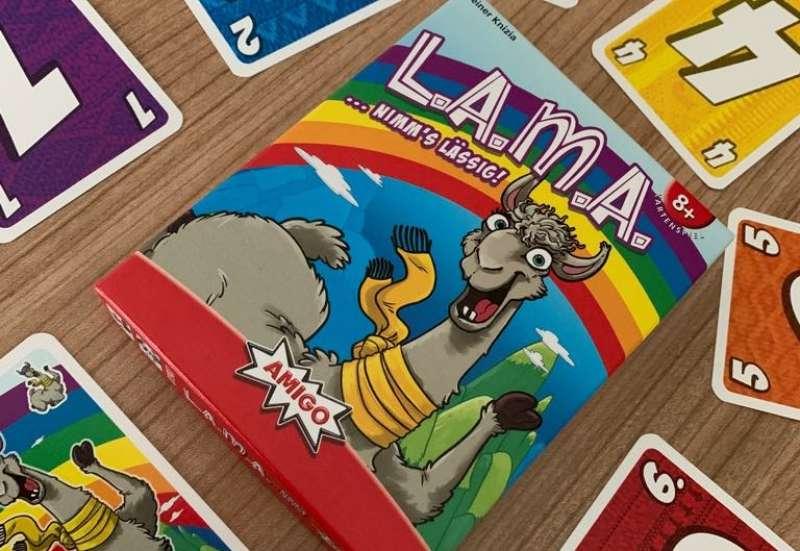 AMIGO/Spiele & Puzzles:L.A.M.A ….. nimms lässig!