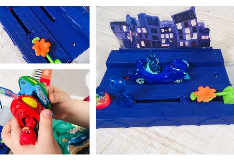 Dickie Toys/Autos, Fahrzeuge, Boote & Flieger:PJ Masks Abschussrampe