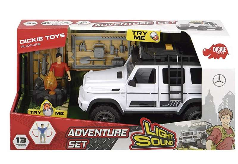 Dickie Toys/Autos, Fahrzeuge, Boote & Flieger:Playlife Adventure Mercedes