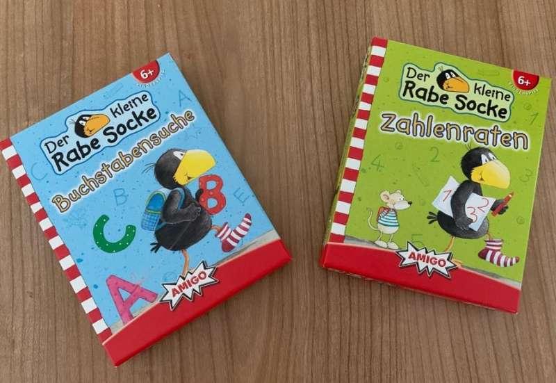 AMIGO/Spiele & Puzzles:Lernspiele vom Rabe Socke