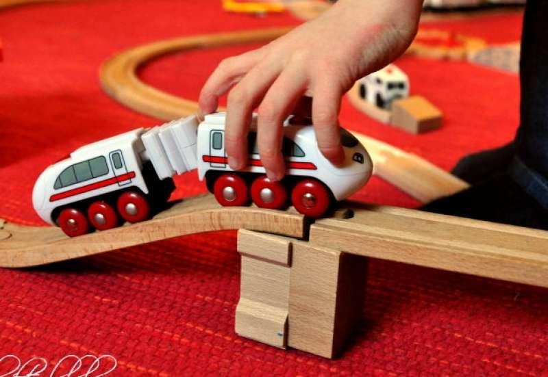 Ferngesteuerter Zug Eichhorn