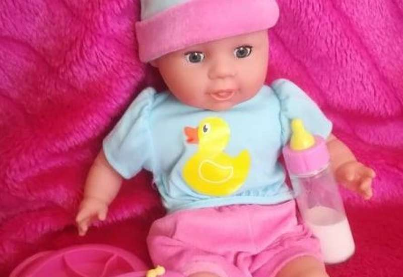 Simba/Puppen & Puppenzubehör:Laura Hungry